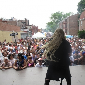 Performing in New York for 50,000