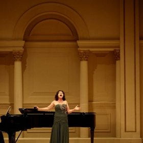 Carnegie Hall Debut October 26, 2014, as First Place Winner of the Barry Alexander International Vocal Competition.