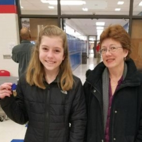 ISSMA solo and ensemble contest Gold!   Love the smile on her face!!
