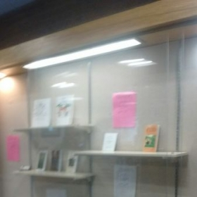 My Book display at my Local Library