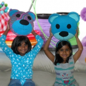 Fun Workshop - Teddy Bear Pillow