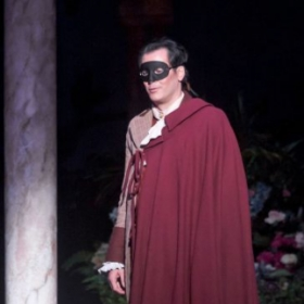 "As Figaro in Mozart's ""Le nozze di Figaro""