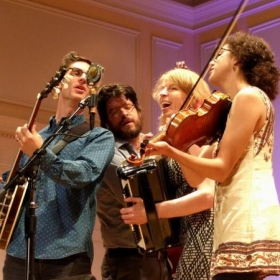 Playing at the Library of Congress with Jayme Stone's Folklife