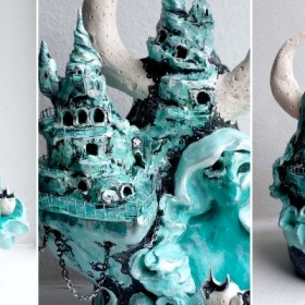 Mixed-Media Sculpture Using Polymer Clay