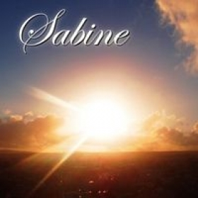 One of Sabine's Cd's with her original music