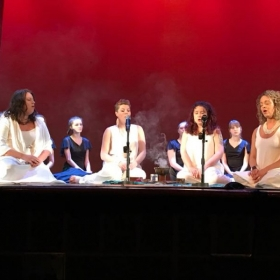 The Ages guest starring in Heartbeat Performing Art's School 20th anniversary show.