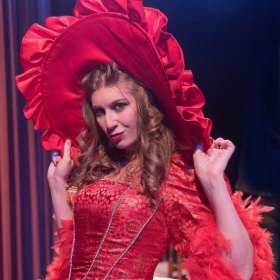 Musetta in La Boheme with Eastern Opera of New Jersey