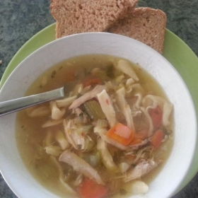 Delicious Chicken Noodle Soup
