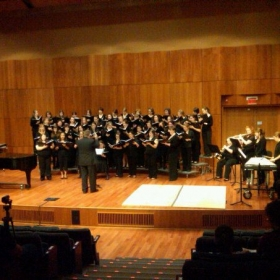 Conducting The College of Saint Rose Women's Chorale - NY