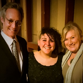 Singing the premier of opera, Circular 14: The Apotheosis of Aristides w Michel Gill (House of Cards) and Tony Award winner Jayne Atkinson.