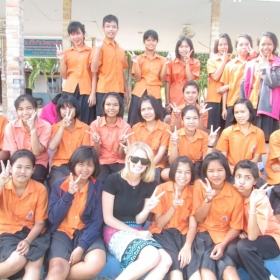 I lived and taught in Thailand for six months. My students were great and improved so much in just a short time.