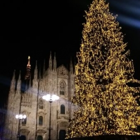 I'm from a town close to Milan. In the picture above you can see the Duomo (Christmas 2017)