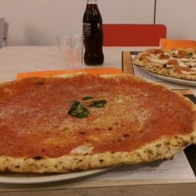 Pizza in Naples (Italy)