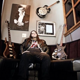 My photo shoot for Gallien Krueger's Site