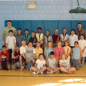 Armstrong Elementary School band 2001