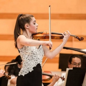 Soloist with the Aspen Music Festival's Philharmonic Orchestra