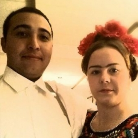 Halloween 2014 - Diego Rivera and Frida Kahlo (Mexican artists)