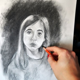 Interested in learning about portraiture? How to use Charcoals?  ShawnaLee can help take you through the process step by step!