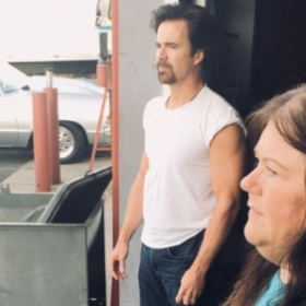 Chad Ayers actor on set of Phoenix Full Throttle as Brian Jet McClean 2018