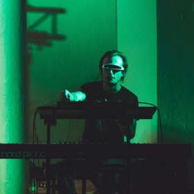 Performing with SpaceShip @ Gnu Sound Music Festival