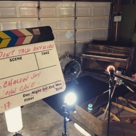 """Music video shoot: Covering Charlie Puth's """"We Don't Talk Anymore."""" https://www.youtube.com/watch?time_continue=1&v=QOISjw909a0"""