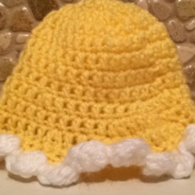 Learn to make this cute baby hat!