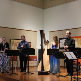 Final Bow after a New England Chamber Players' performance.