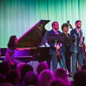 Cayman Island Arts Festival 2017 with the Juilliard Jazz Ensemble and Helena Sung