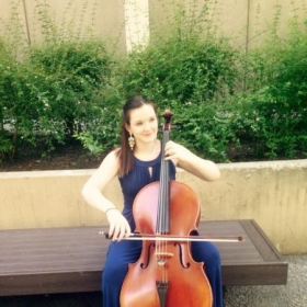 Here I am playing the prelude to Bach's first cello Suite. It's by far one of my favorite pieces to play.