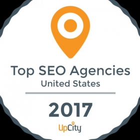 My company was awarded Top SEO Agency in 2017.