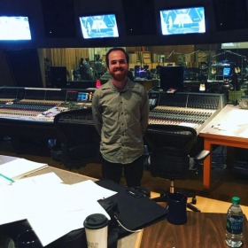 Taken at the Newman Scoring Stage at 20th Century Fox