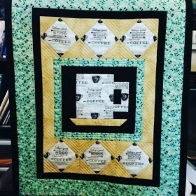 My Coffee Time Wall Hanging.