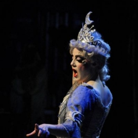 "Me in Phoenix Opera's ""The Magic Flute"" as  the Queen of the Night"