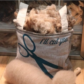 I Process  Raw Fleece-Carded and Combed