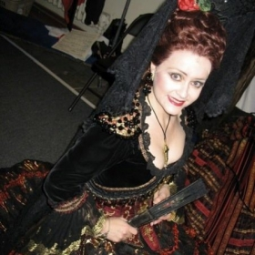 As Carlotta in Phantom of the Opera