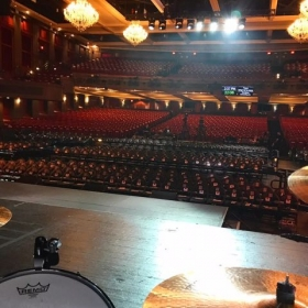 One of the largest venues I've played...for now
