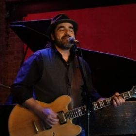 Performing live at the Rockwood Music Hall in NYC