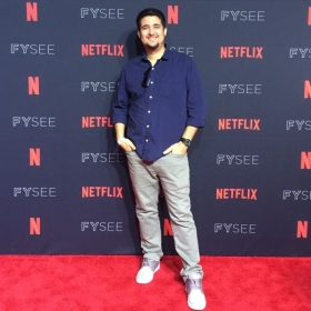 Walking the Red Carpet at a Netflix Premiere!