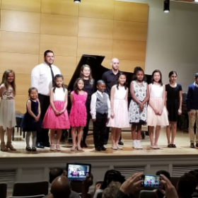 Spring students' recital May 6, 2018 Ewell Rcital Hall, College of William and Mary