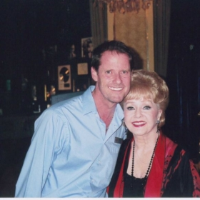 Debbie Reynolds and our show at the Welk Theatre