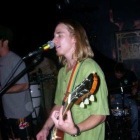 This is me and my brother in our first Reggae band 7 years ago!