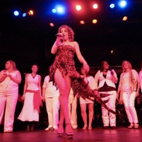 """From """"An Evening with Emily,"""" Varsity Theater, Minneapolis, 2011"""