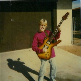 One of my first guitars at the age of 15