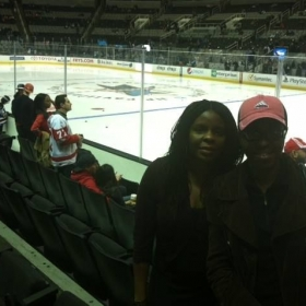 Sharks v red wings game. Red Wings won!
