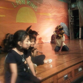 My  Students Performing The Lion King