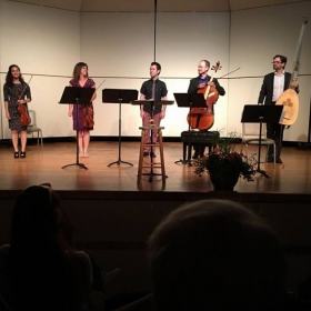 "Performance of ""A Gaelic Summer"" at Baroque on Beaver Island Festival"