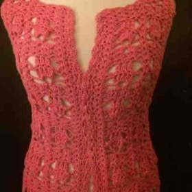 Crochet summer top