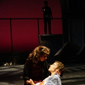 Performing as Maria in West Side Story with the McLeod Summer Playhouse.