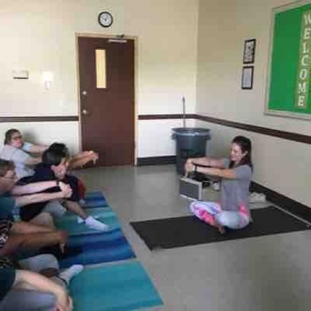Yoga for disabilities and mental illness.
