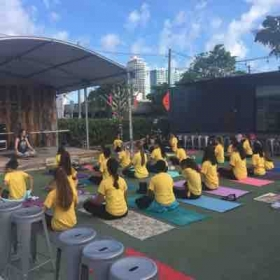Yoga for kids, yoga and art field trip